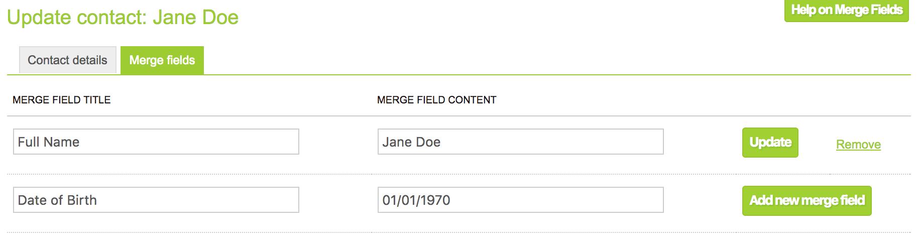 merge fields 3
